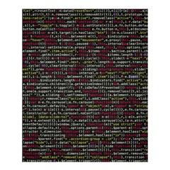 Full Frame Shot Of Abstract Pattern Shower Curtain 60  X 72  (medium)