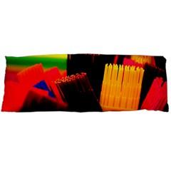 Plastic Brush Color Yellow Red Body Pillow Case (dakimakura) by Amaryn4rt