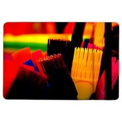 Plastic Brush Color Yellow Red Ipad Air 2 Flip by Amaryn4rt