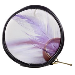 Ring Feather Marriage Pink Gold Mini Makeup Bags