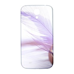 Ring Feather Marriage Pink Gold Samsung Galaxy S4 I9500/i9505  Hardshell Back Case by Amaryn4rt