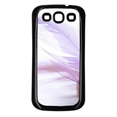 Ring Feather Marriage Pink Gold Samsung Galaxy S3 Back Case (black) by Amaryn4rt
