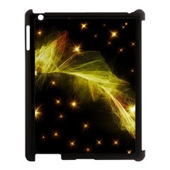 Particles Vibration Line Wave Apple Ipad 3/4 Case (black) by Amaryn4rt