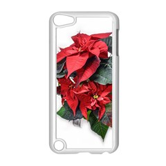 Star Of Bethlehem Star Red Apple Ipod Touch 5 Case (white) by Amaryn4rt