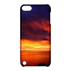 Sunset The Pacific Ocean Evening Apple Ipod Touch 5 Hardshell Case With Stand by Amaryn4rt