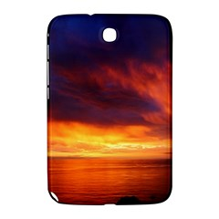 Sunset The Pacific Ocean Evening Samsung Galaxy Note 8 0 N5100 Hardshell Case  by Amaryn4rt