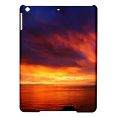 Sunset The Pacific Ocean Evening Ipad Air Hardshell Cases by Amaryn4rt