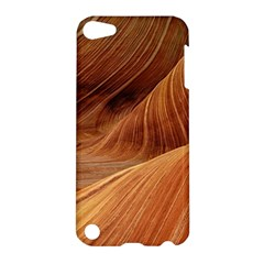 Sandstone The Wave Rock Nature Red Sand Apple Ipod Touch 5 Hardshell Case by Amaryn4rt