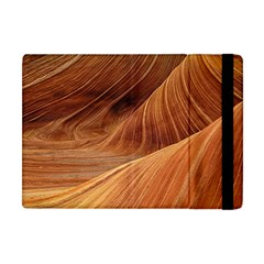 Sandstone The Wave Rock Nature Red Sand Apple Ipad Mini Flip Case by Amaryn4rt