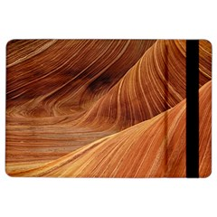 Sandstone The Wave Rock Nature Red Sand Ipad Air 2 Flip by Amaryn4rt
