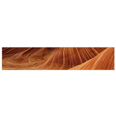 Sandstone The Wave Rock Nature Red Sand Flano Scarf (small) by Amaryn4rt
