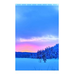 Winter Landscape Snow Forest Trees Shower Curtain 48  X 72  (small)  by Amaryn4rt