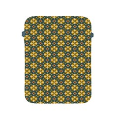 Arabesque Flower Yellow Apple Ipad 2/3/4 Protective Soft Cases by AnjaniArt