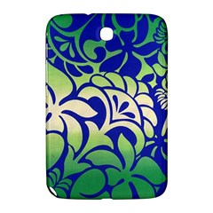 Batik Fabric Flower Samsung Galaxy Note 8 0 N5100 Hardshell Case  by AnjaniArt