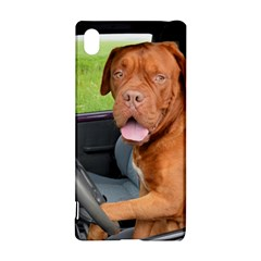 Dogue De Bordeaux Driving Sony Xperia Z3+ by TailWags