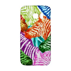 Zebra Colorful Abstract Collage Galaxy S6 Edge