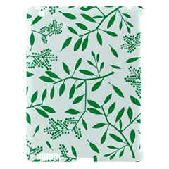 Leaves Foliage Green Wallpaper Apple Ipad 3/4 Hardshell Case (compatible With Smart Cover) by Amaryn4rt