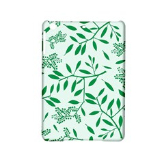 Leaves Foliage Green Wallpaper iPad Mini 2 Hardshell Cases by Amaryn4rt