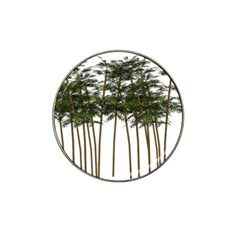 Bamboo Plant Wellness Digital Art Hat Clip Ball Marker (4 Pack)