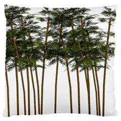 Bamboo Plant Wellness Digital Art Large Cushion Case (one Side)