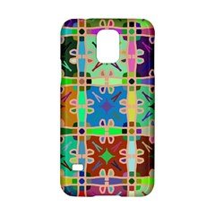 Abstract Pattern Background Design Samsung Galaxy S5 Hardshell Case  by Amaryn4rt