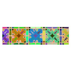 Abstract Pattern Background Design Satin Scarf (oblong) by Amaryn4rt