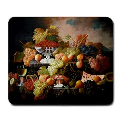 Abundance Of Fruit Severin Roesen Large Mousepads