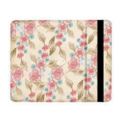 Background Page Template Floral Samsung Galaxy Tab Pro 8.4  Flip Case by Amaryn4rt