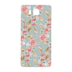 Background Page Template Floral Samsung Galaxy Alpha Hardshell Back Case by Amaryn4rt