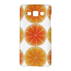Orange Discs Orange Slices Fruit Samsung Galaxy A5 Hardshell Case