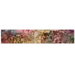 Texture Background Spring Colorful Flano Scarf (large) by Amaryn4rt