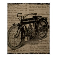 Vintage Collage Motorcycle Indian Shower Curtain 60  X 72  (medium)  by Amaryn4rt