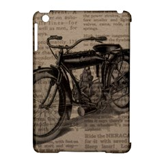 Vintage Collage Motorcycle Indian Apple Ipad Mini Hardshell Case (compatible With Smart Cover) by Amaryn4rt