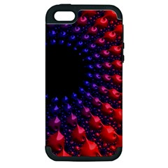Fractal Mathematics Abstract Apple Iphone 5 Hardshell Case (pc+silicone) by Amaryn4rt