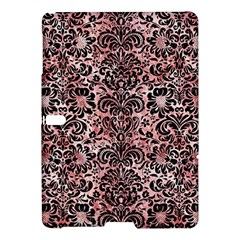 Damask2 Black Marble & Red & White Marble (r) Samsung Galaxy Tab S (10 5 ) Hardshell Case  by trendistuff