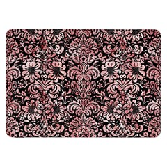Damask2 Black Marble & Red & White Marble Samsung Galaxy Tab 8 9  P7300 Flip Case by trendistuff