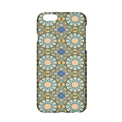 Arabesque Flower Star Apple Iphone 6/6s Hardshell Case by AnjaniArt