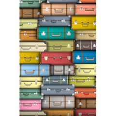 Colored Suitcases 5 5  X 8 5  Notebooks by AnjaniArt