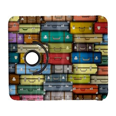 Colored Suitcases Galaxy S3 (flip/folio) by AnjaniArt