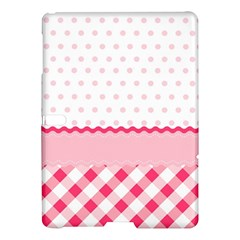 Cute Cartoon Decorative Pink Samsung Galaxy Tab S (10 5 ) Hardshell Case  by AnjaniArt