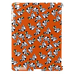 Cat Hat Orange Apple Ipad 3/4 Hardshell Case (compatible With Smart Cover) by AnjaniArt