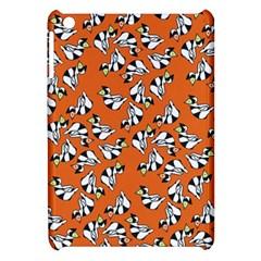 Cat Hat Orange Apple Ipad Mini Hardshell Case by AnjaniArt