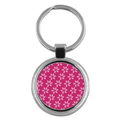 Flower Roses Key Chains (round)  by AnjaniArt