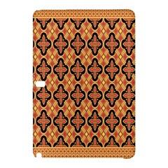 Flower Batik Samsung Galaxy Tab Pro 10 1 Hardshell Case by AnjaniArt