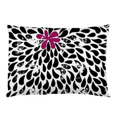 Flower Simple Pink Pillow Case by AnjaniArt