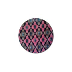 Flower Pink Gray Golf Ball Marker (10 Pack) by AnjaniArt