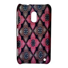 Flower Pink Gray Nokia Lumia 620 by AnjaniArt