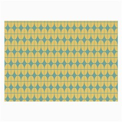 Green Yellow Large Glasses Cloth (2 Side) by AnjaniArt