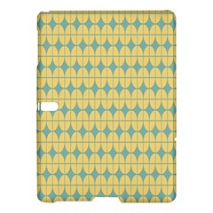 Green Yellow Samsung Galaxy Tab S (10 5 ) Hardshell Case  by AnjaniArt