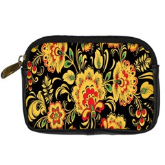 Flower Yellow Green Red Digital Camera Cases by AnjaniArt